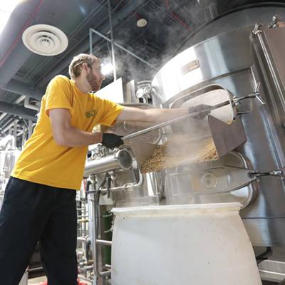 Beer making at Innovation Brew Works