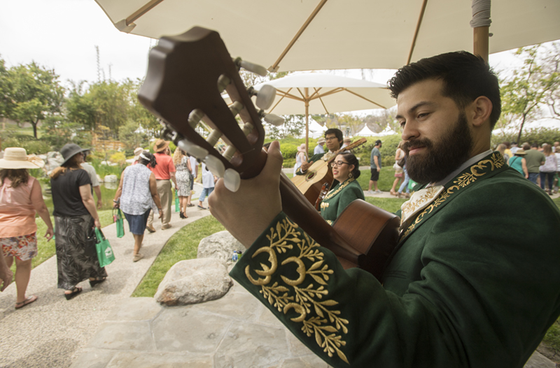 Mariachi Los Broncos de Pomona perform during the 2018 Cal Poly Pomona Tasting and Auction at Cal Poly Pomona