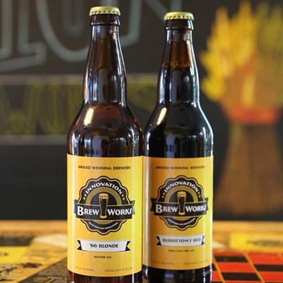 Innovation Brew Works beers